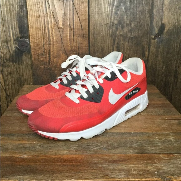 new arrival 67797 5d4a1 NIKE AIR MAX 90 ULTRA ESSENTIAL ACTION RED Sz 11